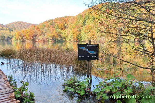 Plitvicer Seen im Herbst: Jezero Galovac