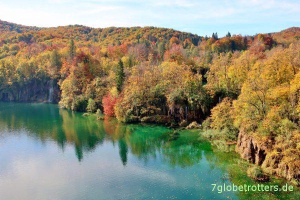 Der Herbst ist bestimmt die schönste Reisezeit: Plitvicer Seen