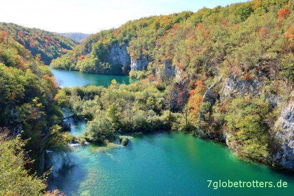 Plitvicer Seen: Typische Staustufe vor dem Silbersee