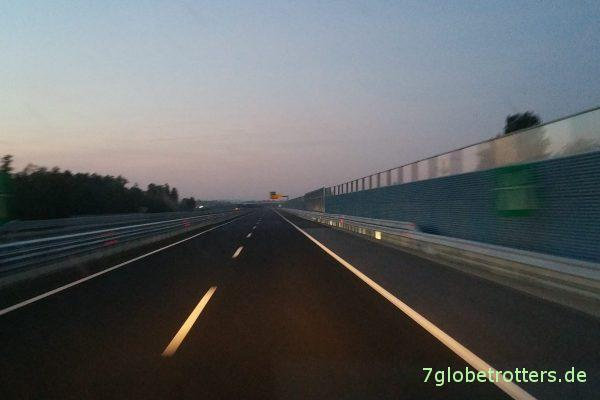 Autobahn durch Slowenien