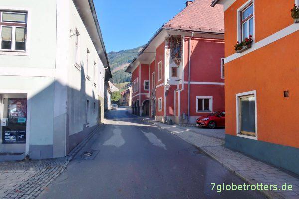 B115 durch Österreich