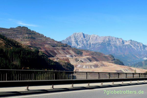 Österreich: Der berühmte Erzberg bei Eisenerz