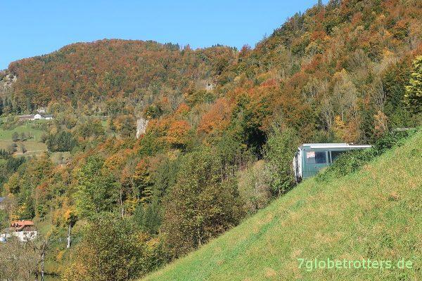 Österreich: Rast im Nationalpark Ennstal
