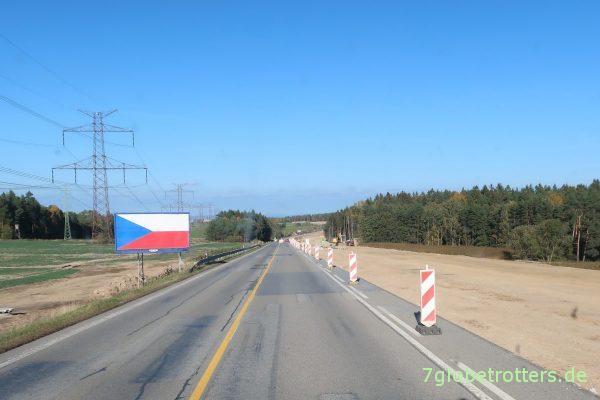 Tschechien: Autobahnbau von Budweis nach Prag