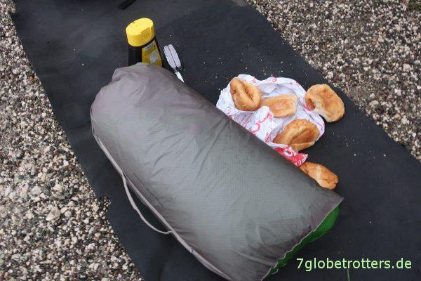 Zeltfrühstück