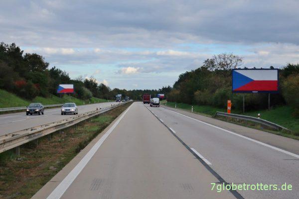 Autobahn in Tschechien: Zwischen Prag und Brünn