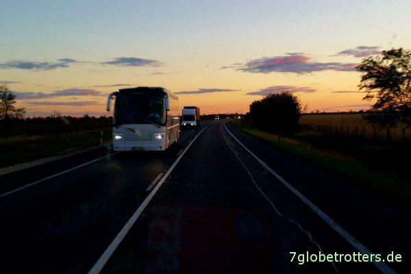 Ungarn: Abendliches Farbenspiel