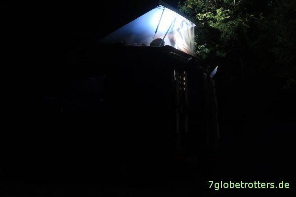 Ungarn: Nacht vor dem Thermalcampingplatz