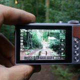 Touchbildschirm der Canon PowerShot G9 X Mark II