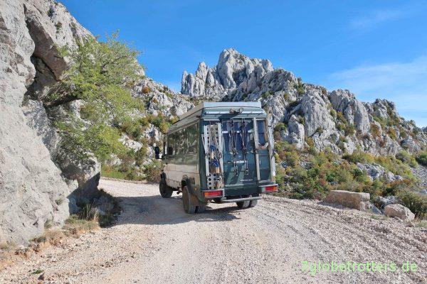Kroatien: Mit dem MB 711 zum Nugget Tsil