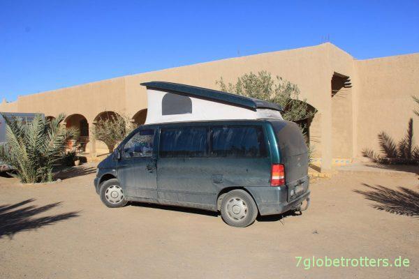 Marokko 2014: Mercedes Vito in Merzouga