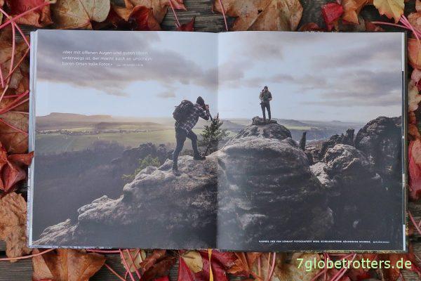 Die Wanderer in den Schrammsteinen