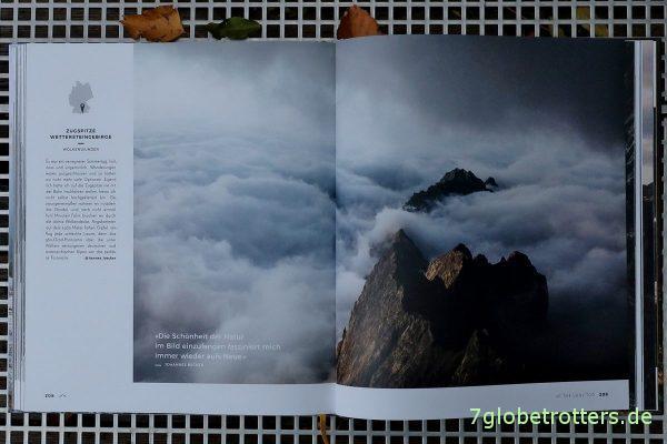 Nebelmeer unter der Zugspitze (S. 208)