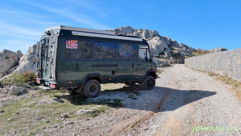 Mercedes Nr. 6: MB 711 als Wohnmobil