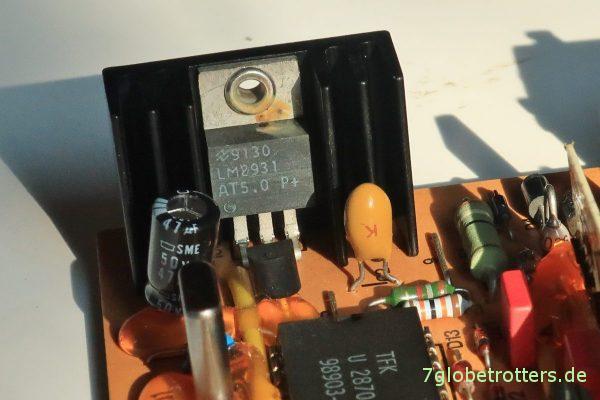 Reparatur des Steuergeräts SG1564-24V: Ist der Spannungsregler LM2931 durchgebrannt?