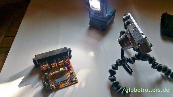 Vorbereitung der Reparatur des Steuergeräts SG1564-24V: Fotolabor