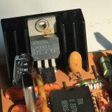Ist der Spannungsregler LM2931 im Steuergerät SG 1564-24V durchgebrannt?