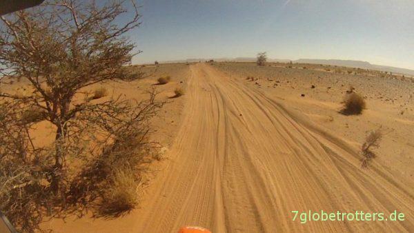 Wüstenpiste in Marokko