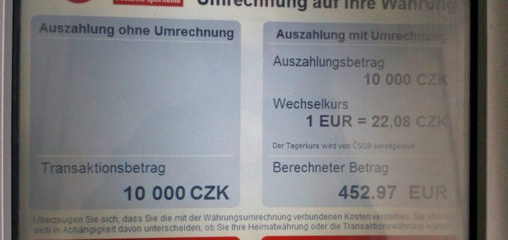 Kostenfalle Bankautomat: Jetzt bloß nicht rechts klicken