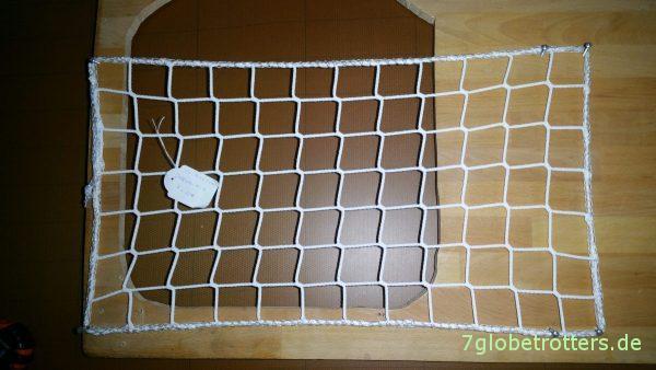 Netze im Wohnmobil ausprobieren: Probespannen