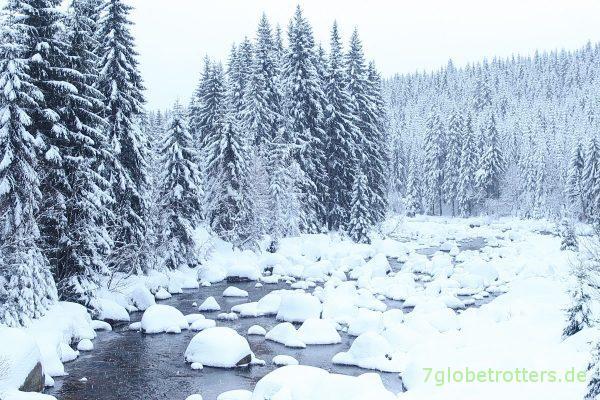 Winterliche Iser