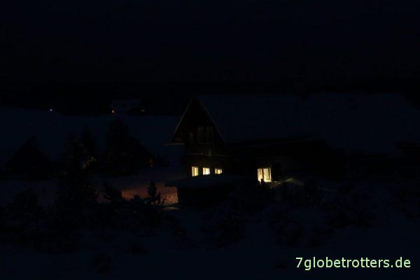 Im Isergebirge gibt es viele Berghütten