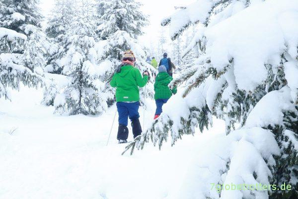 Skifahren im Isergebirge