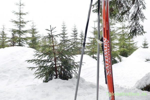 Ohne Skier geht nichts