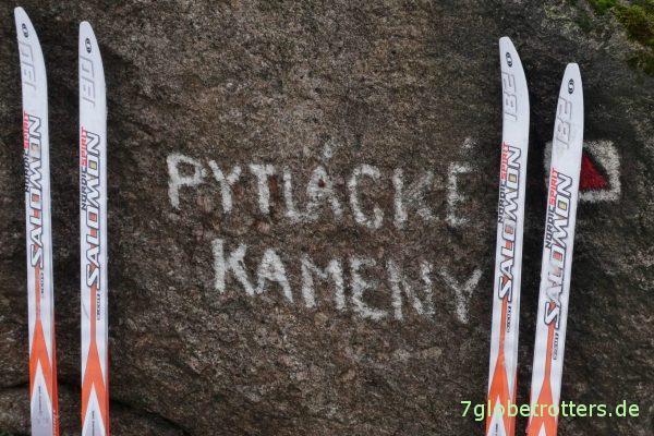 Raubschützenfelsen im Isergebirge (Pytlácké kameny)