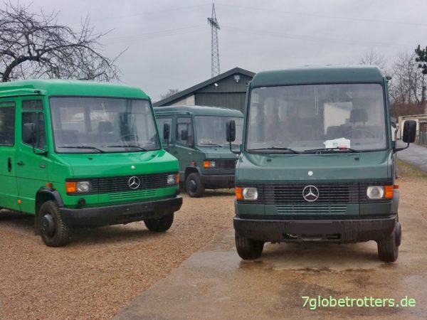 Mercedes 711 Gruppenkraftwagen kaufen ohne Kaufberatung