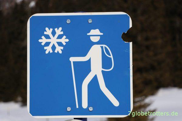 Winterwanderungen in Südtirol
