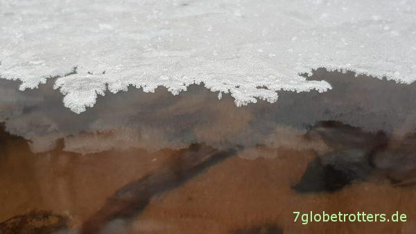 Flussquerung in Sibirien