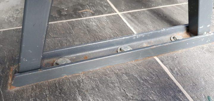 Befestigung der Sitzbänke im Wohnmobil: 3 Schrauben M8/8.8 durch den Boden