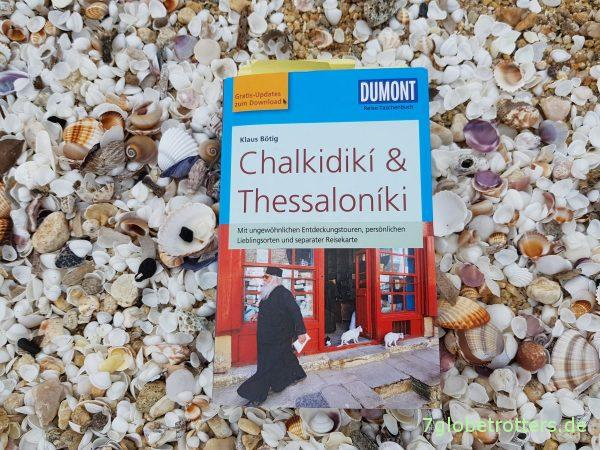 Lektüre am griechischen Traumstrand: Reiseführer Chalkidikí und Thessaloníki