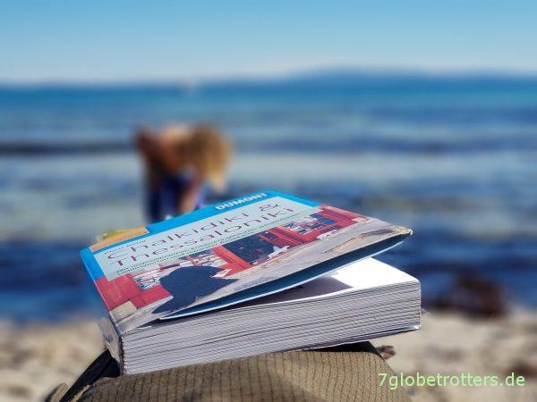 Meine Strandlektüre: Der Reiseführer Chalkidikí und Thessaloníki von Klaus Bötig