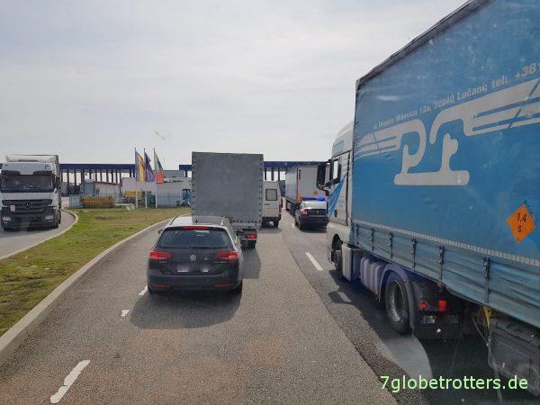 Wohnmobil Anreise im Transit quer über den Balkan nach Griechenland: 2000 km in 30 Stunden