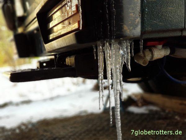 Winter am WoMo: Ist auch der Diesel eingefroren?