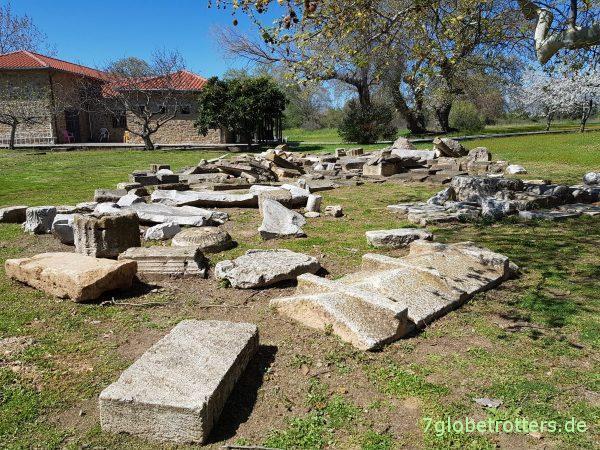 Ausgrabungsstätte des antiken Olynthos auf Chalkidikí
