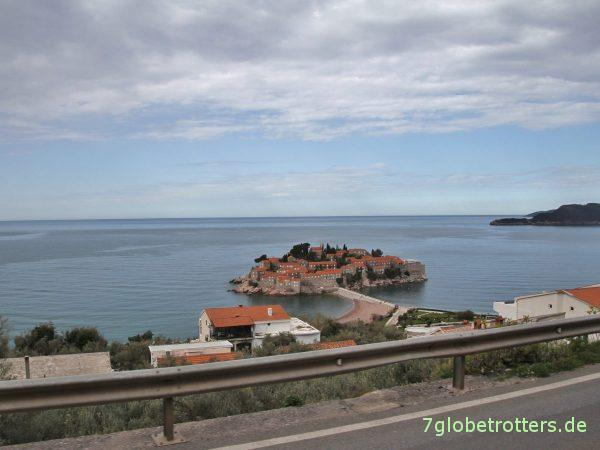 Budvanska Riviera in Montenegro, Sveti Stefan