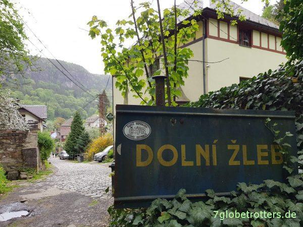 Böhmische Schweiz von Niedergrund nach Jonsdorf