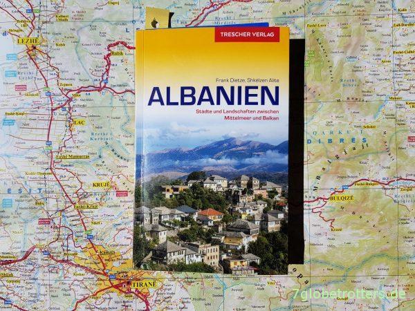 Reiseführer Albanien von Frank Dietze und Shkëlzen Alite aus dem Trescher Verlag