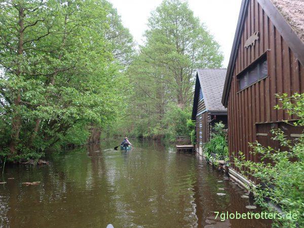 Obere-Havel-Tour: Paddeln durch die Kernzone des Müritz-Nationalparks zum Campingplatz Havelberge