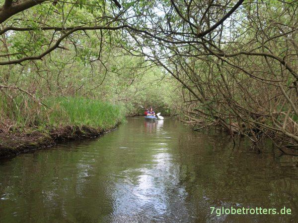 Obere-Havel-Tour: Über Woblitzsee und Schwanhavel zum Kanuhof Wustrow