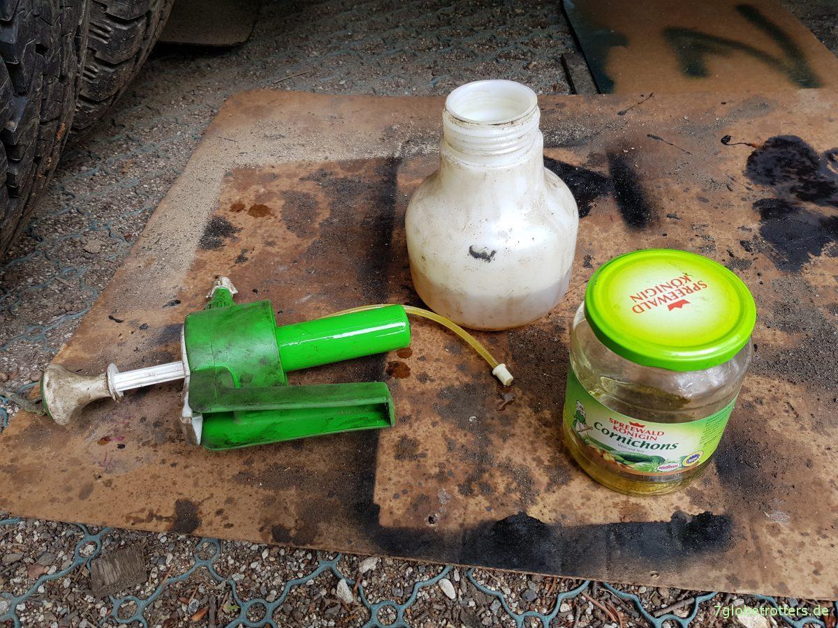 Prächtig ᐅ Ob das dem Wohnmobil schmeckt? Rostschutz mit Leinöl #DL_11