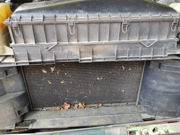 Ruhe hinterm Kühlergrill Klappern und Rost im Motorraum bekämpfen Mercedes Benz MB 711 D Baumuster 669