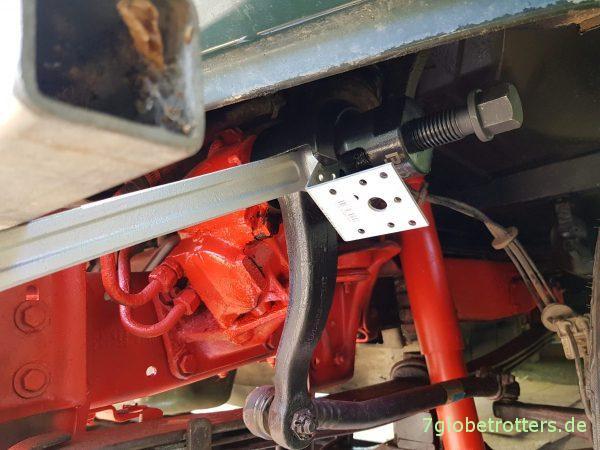 Werkstatthandbuch Reparatur Mercedes Lenkgetriebe LS2 A am MB 711 D / T2 undicht, Lenkgetriebe instandsetzen, öffnen und Dichtring wechseln