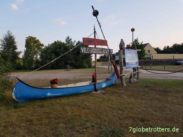 Lettland: Piste zum Pape Naturpark und dem längsten Strand Europas, Naturcamping Mikjanu Seta