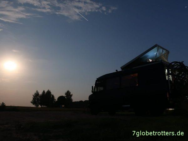 Polen: Auf der Route 61 nach Litauen, Pułtusk - Nowogród - Augustów - Suwałki - Marijampolė - Šakiai