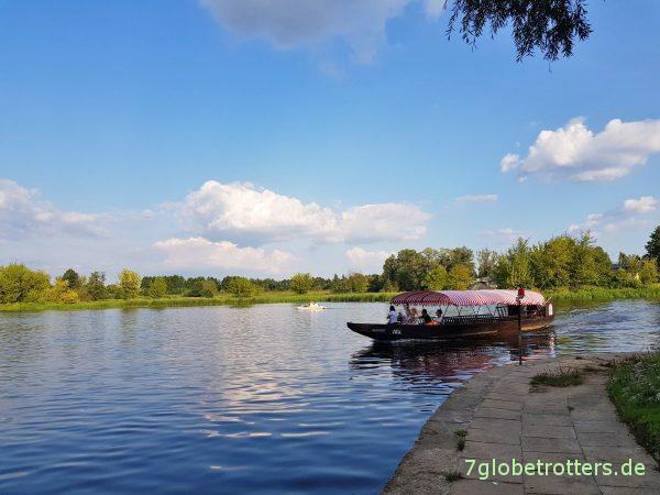 Polen: Sommer, Sonne, Fluss. Und der längste Marktplatz Europas in Pułtusk