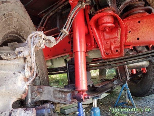 Rahmen lackieren mit roter Rostschutzfarbe: Sprühsystem von Foliatec oder Spraydose von Brantho Korrux 3 in 1?